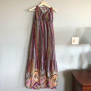 Cotton Voile Maxi Dress